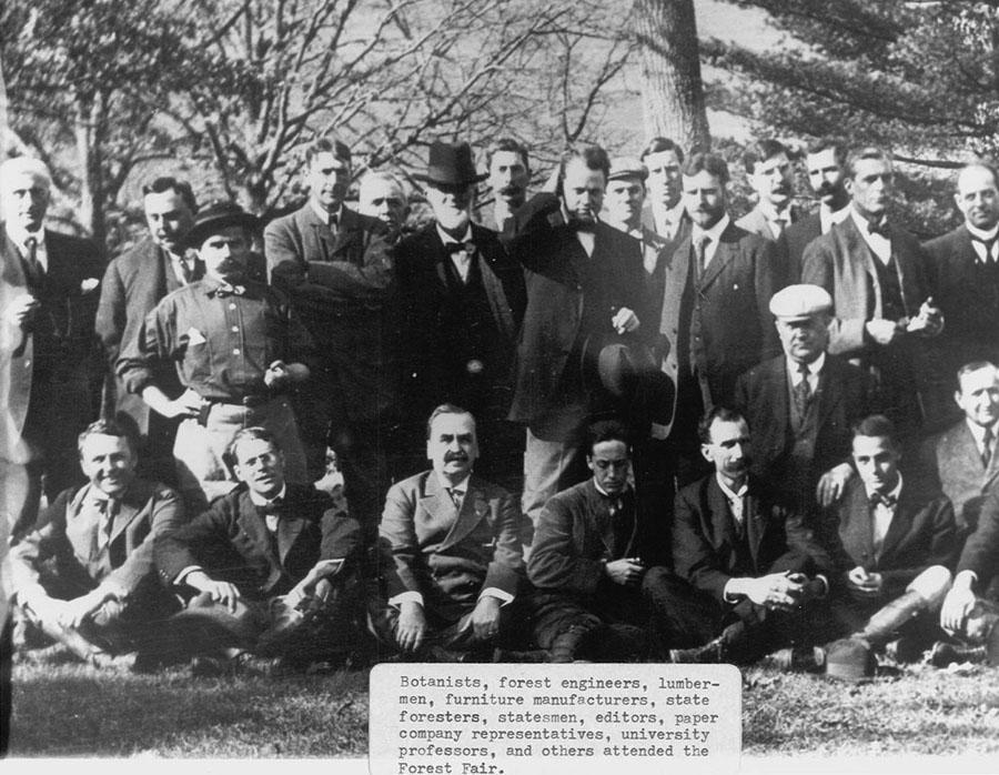 Biltmore Forest Fair attendees