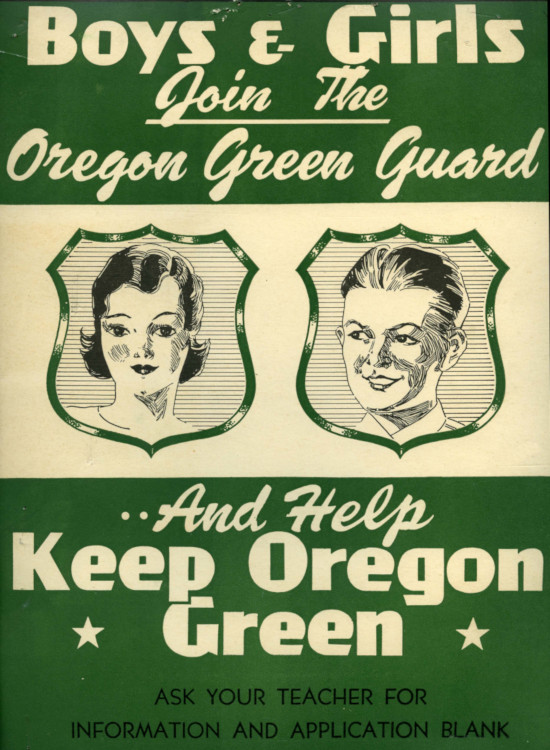 Oregon Green Guard poster