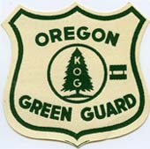Oregon Green Guard patch