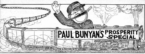 Paul Bunyan's Prosperity Special