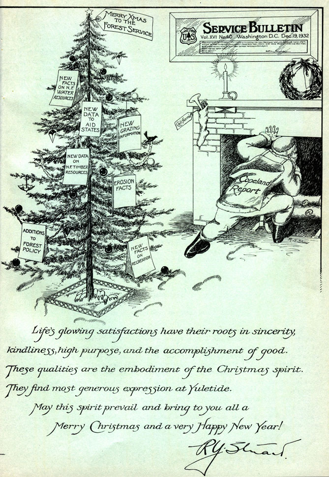 1932 Forest Service Bulletin
