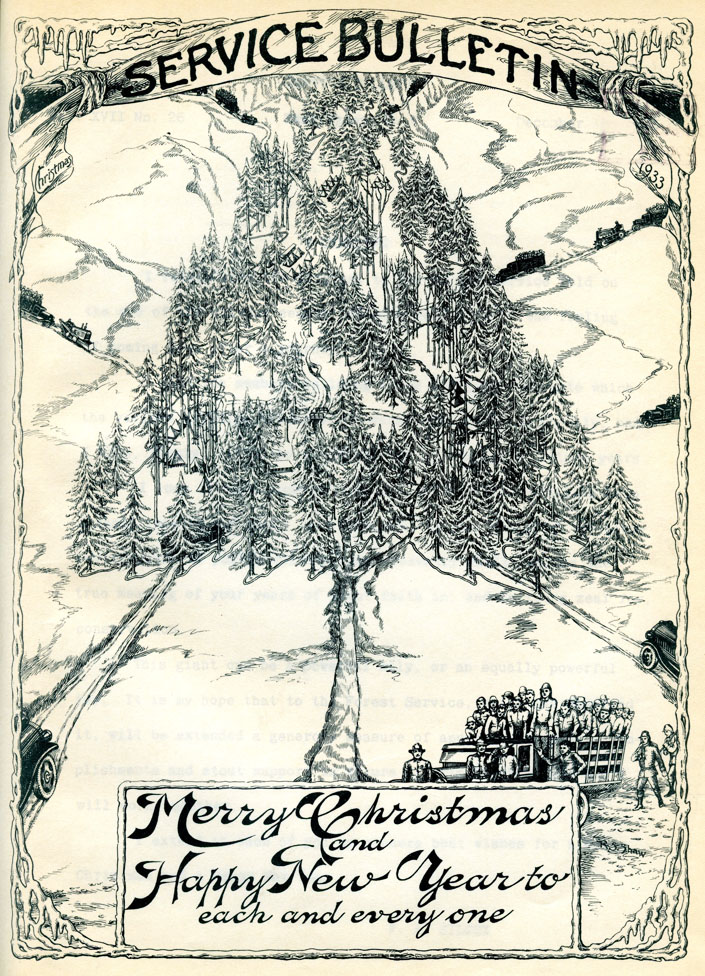 1933 Forest Service Bulletin