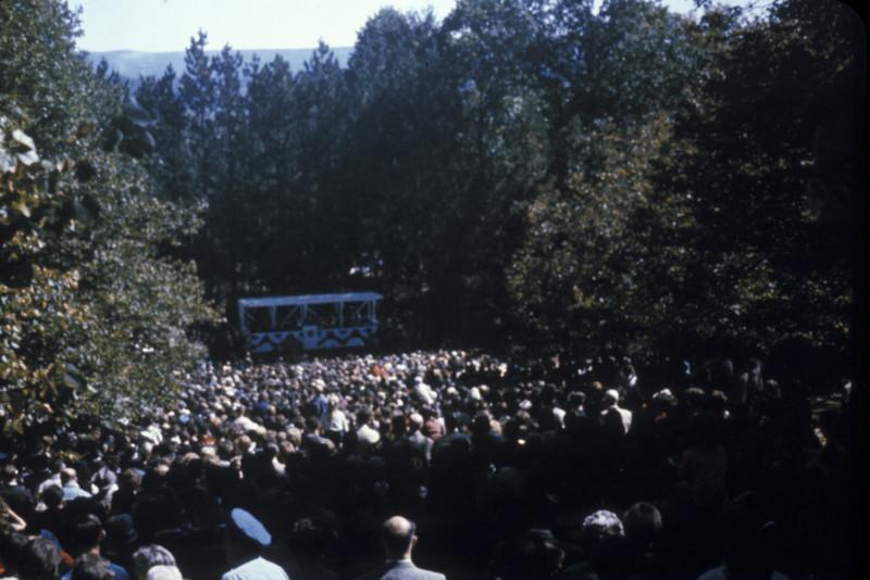 Pinchot Institute dedication ceremony.