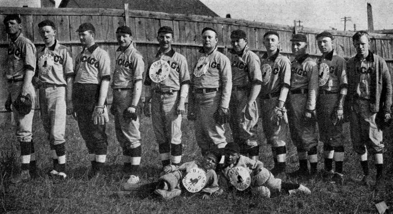 Chicago Hoo-Hoo baseball 1908