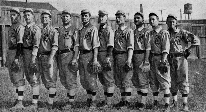 Indianapolis Hoo-Hoo baseball team 1908