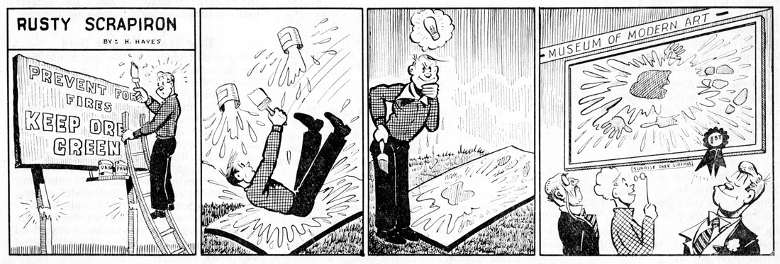 Rusty Scrapiron strip, October 1951