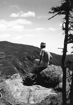 Carter Dome viewed from Wildcat Mountain, August 1965.