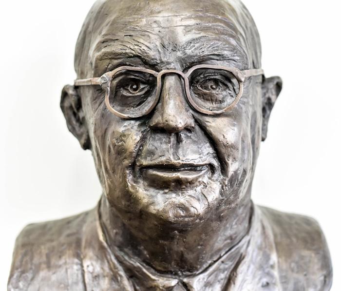 Alvin J. Huss bust