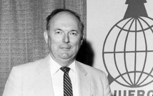 Robert Buckman served as President of the International Union of Forest Research Organizations from 1986-1990.