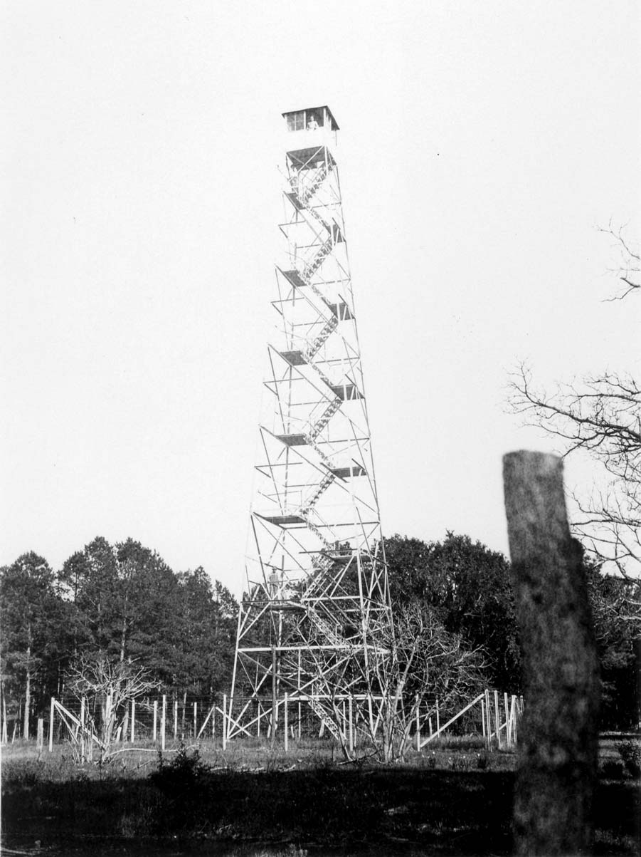 Crossett Lumber Company fire tower, Arkansas.