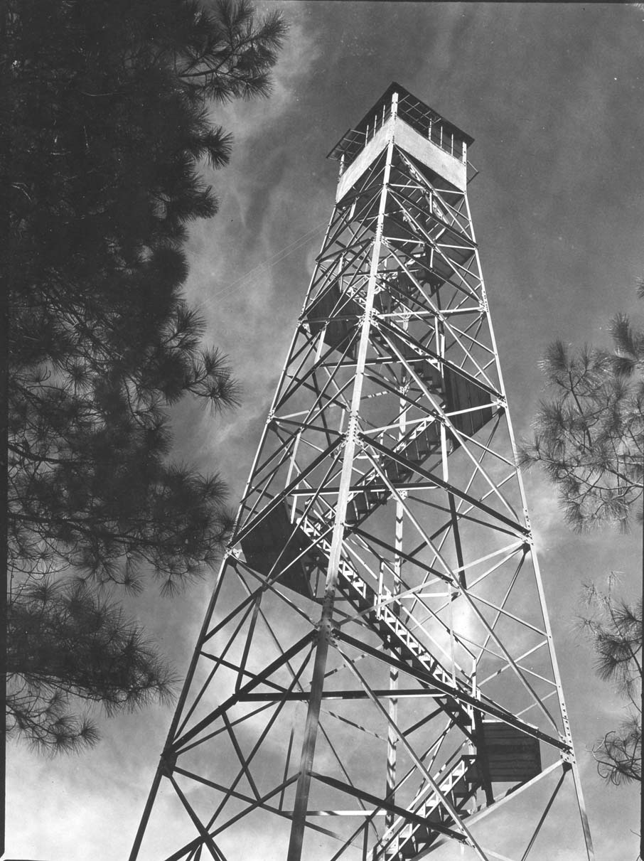 Fire lookout tower, Brooks-Scanlon Lumber Company.