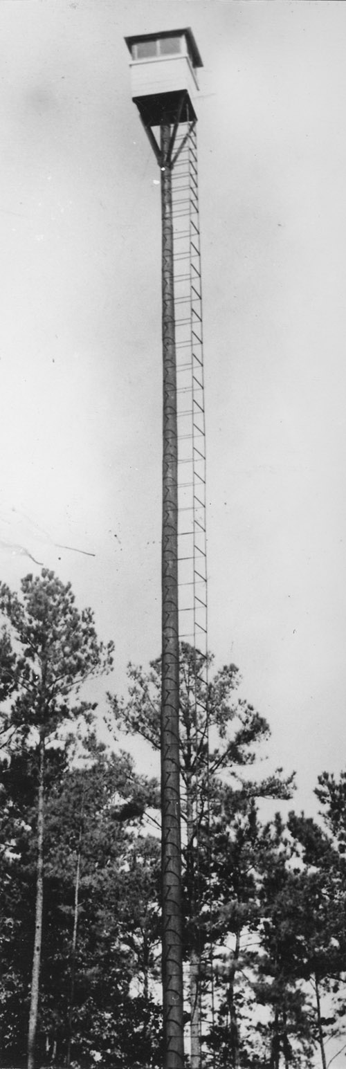 Crosby Lumber Company fire tower.