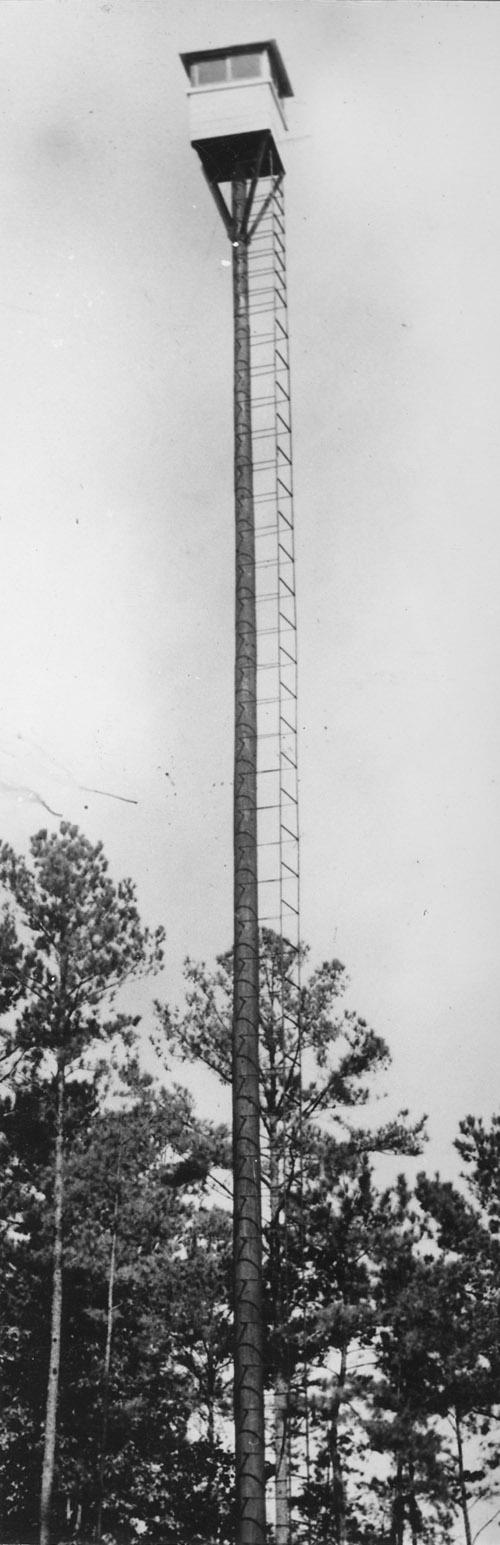 Crosby Lumber Company fire tower.