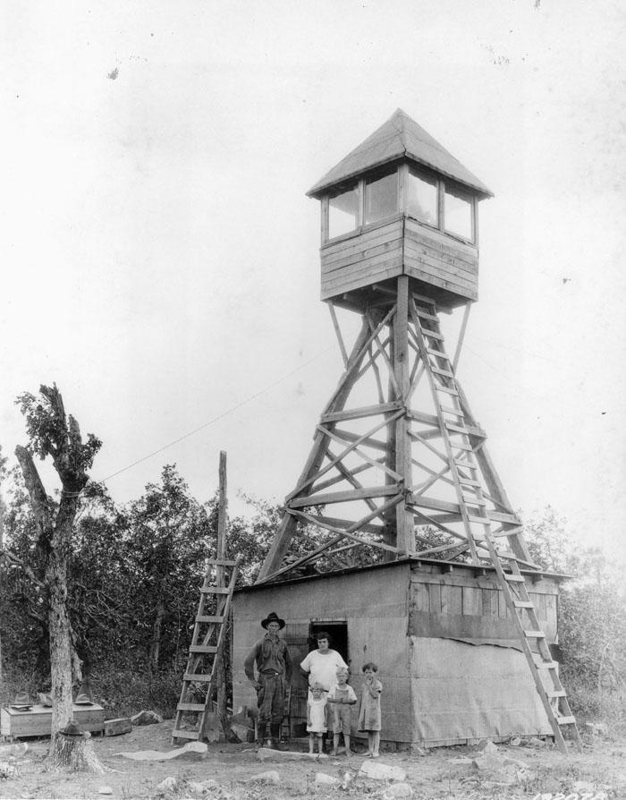 Rich Mountain, Arkansas, Lookout Tower.
