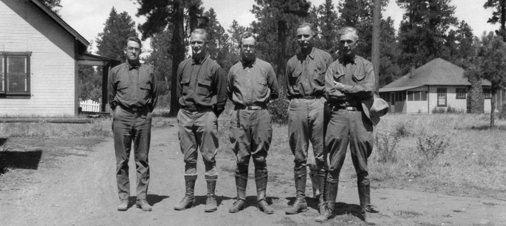 Raymond E. Marsh, E.W. Loveridge, Earle H. Clapp, H.G. Collins, F.C.W. Pooler.