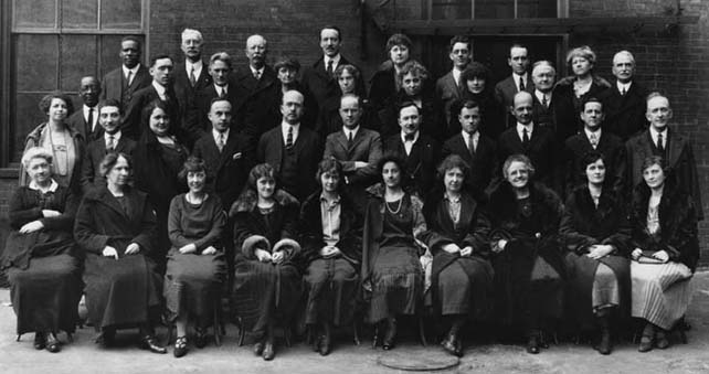 The Engineering staff of the Washington Office,  U.S. Forest Service, March 1924.