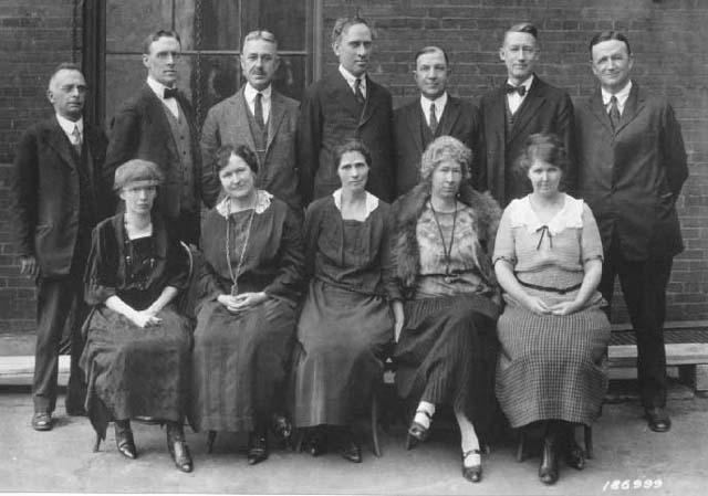 Lands Staff, Washington Office, March, 1924