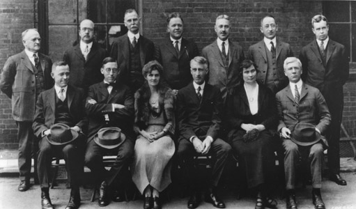 Forest Service Chief and Washington Office Staff, March 1924.