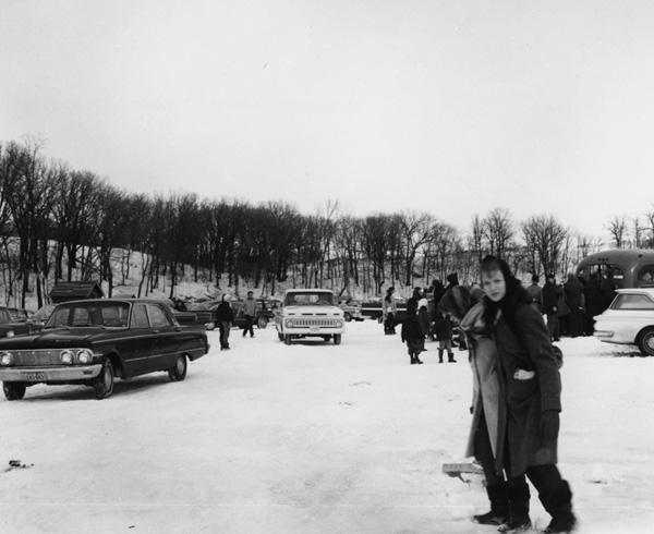 Ice Fishing Derby 1965, North Dakota.