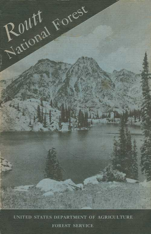 Routt National Forest cover