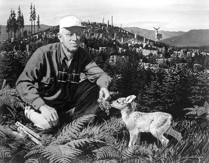 Aldo Leopold artwork