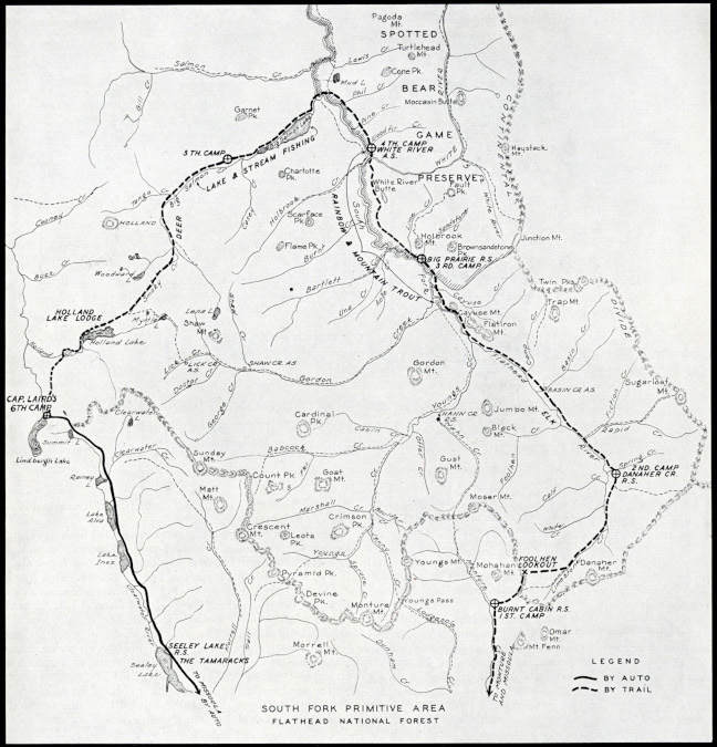 Trail Riders Map