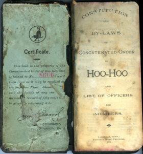 Hoo Hoo book