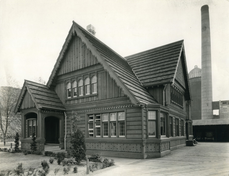 office at Weyerhaeuser Mill A