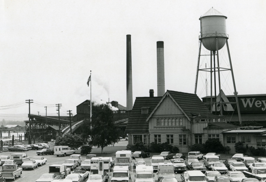 Weyerhaeuser Mill B in Everett