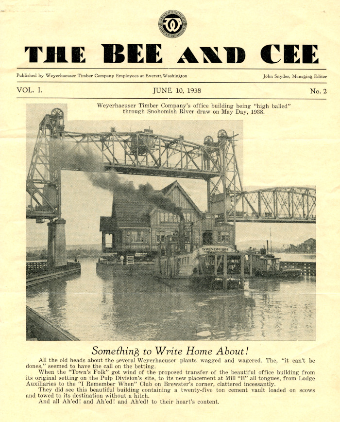 Bee and Cee, June 1938