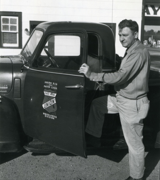 Jack Gnann, February 1954