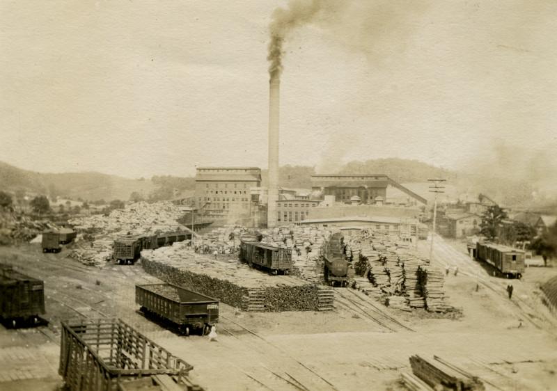 Champion Fiber Company mill, Canton, 1911