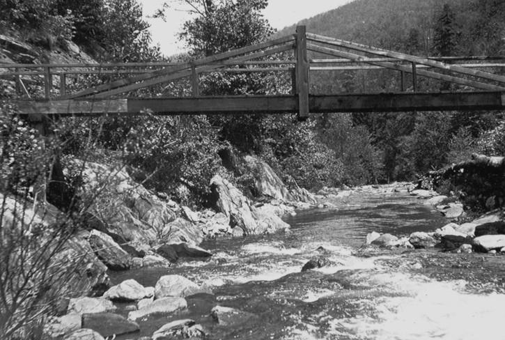 Bridge over Pigeon River
