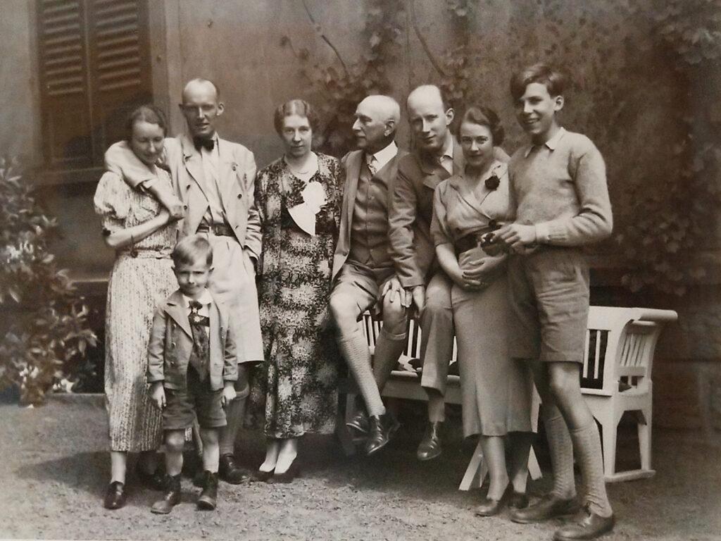 Schenck with Kulenkampff family