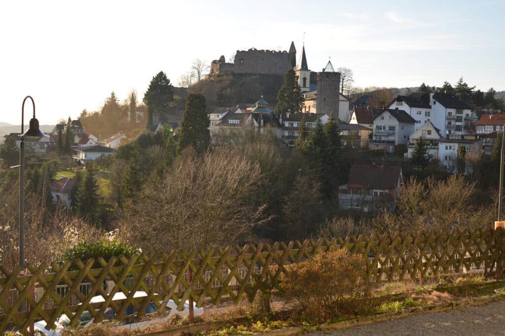 View of Lindenfels.
