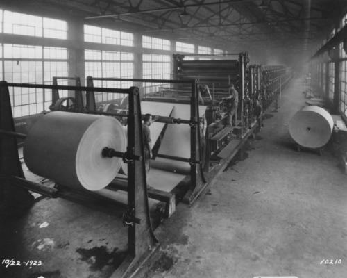 Beloit Iron Works machinery.