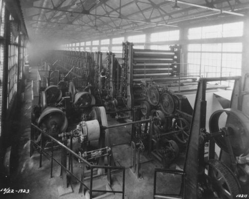 Machinery supplied by Beloit Iron Works of Wisconsin