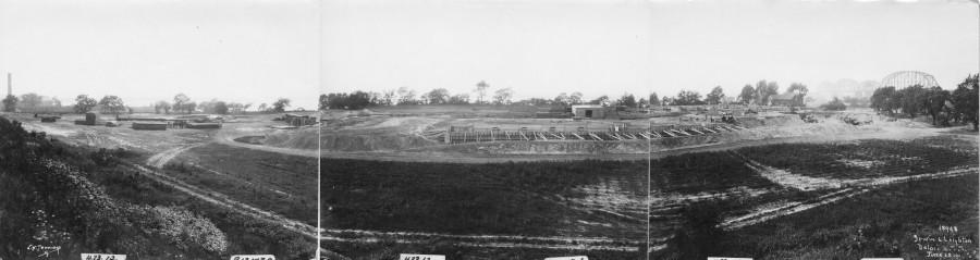 Kieckhefer Container Plant Construction, June 13, 1922.