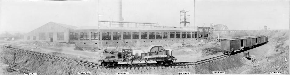 Kieckhefer Container Plant Construction, November 8, 1922.