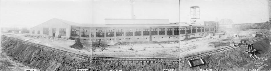 Kieckhefer Container Plant Construction, December 8, 1922.