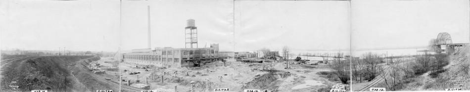 Kieckhefer Container Plant Construction, February 1, 1923