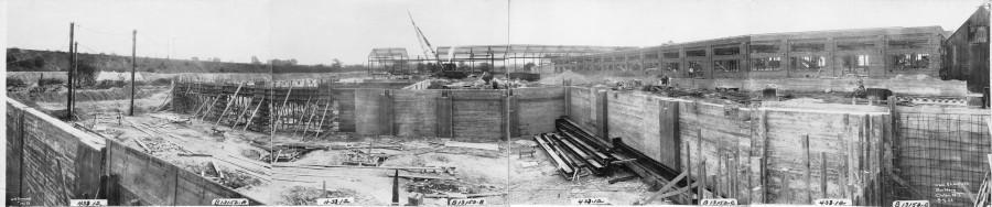 Kieckhefer Container Plant Construction, August 8, 1922.