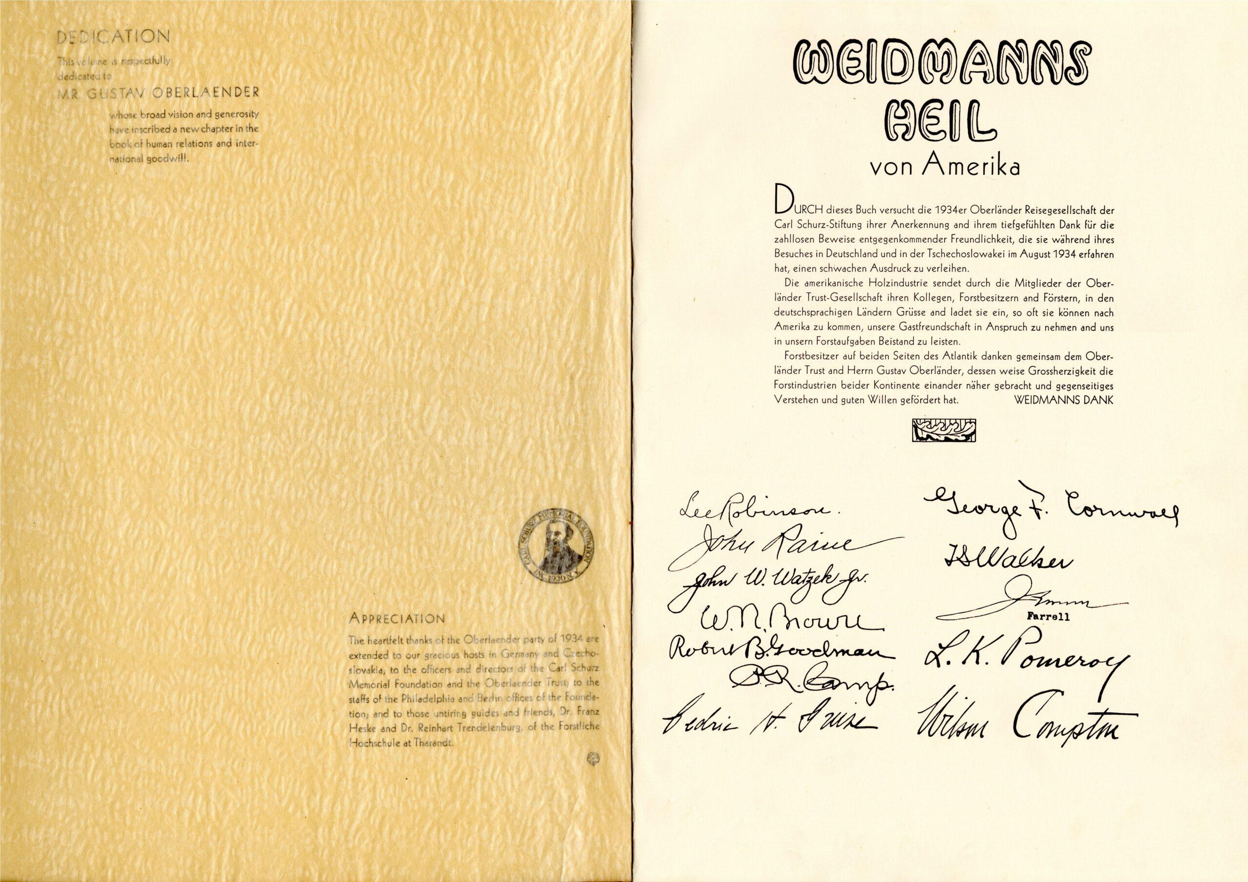 Weidmanns Heil (2) 1934