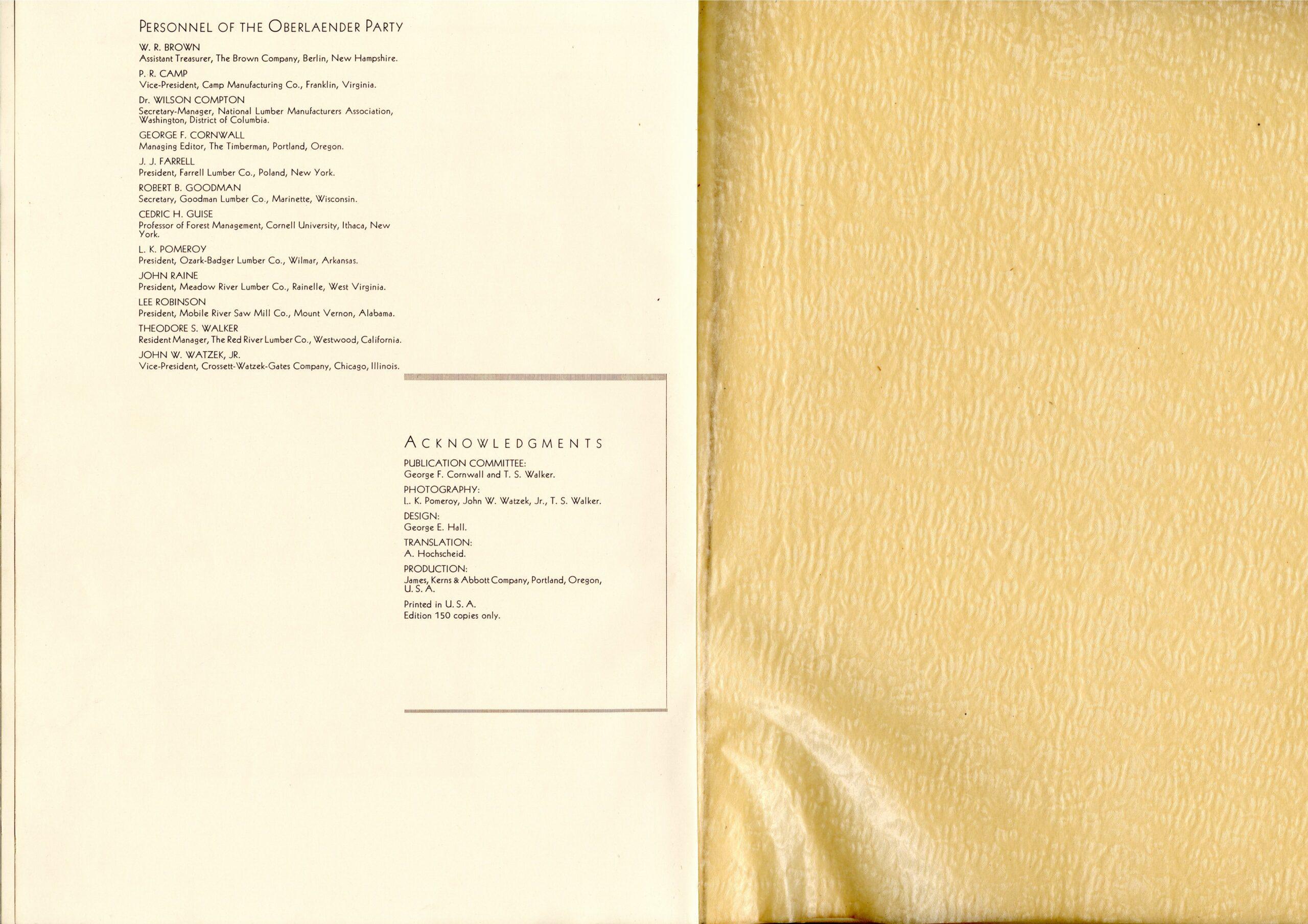 Weidmanns Heil (26) 1934